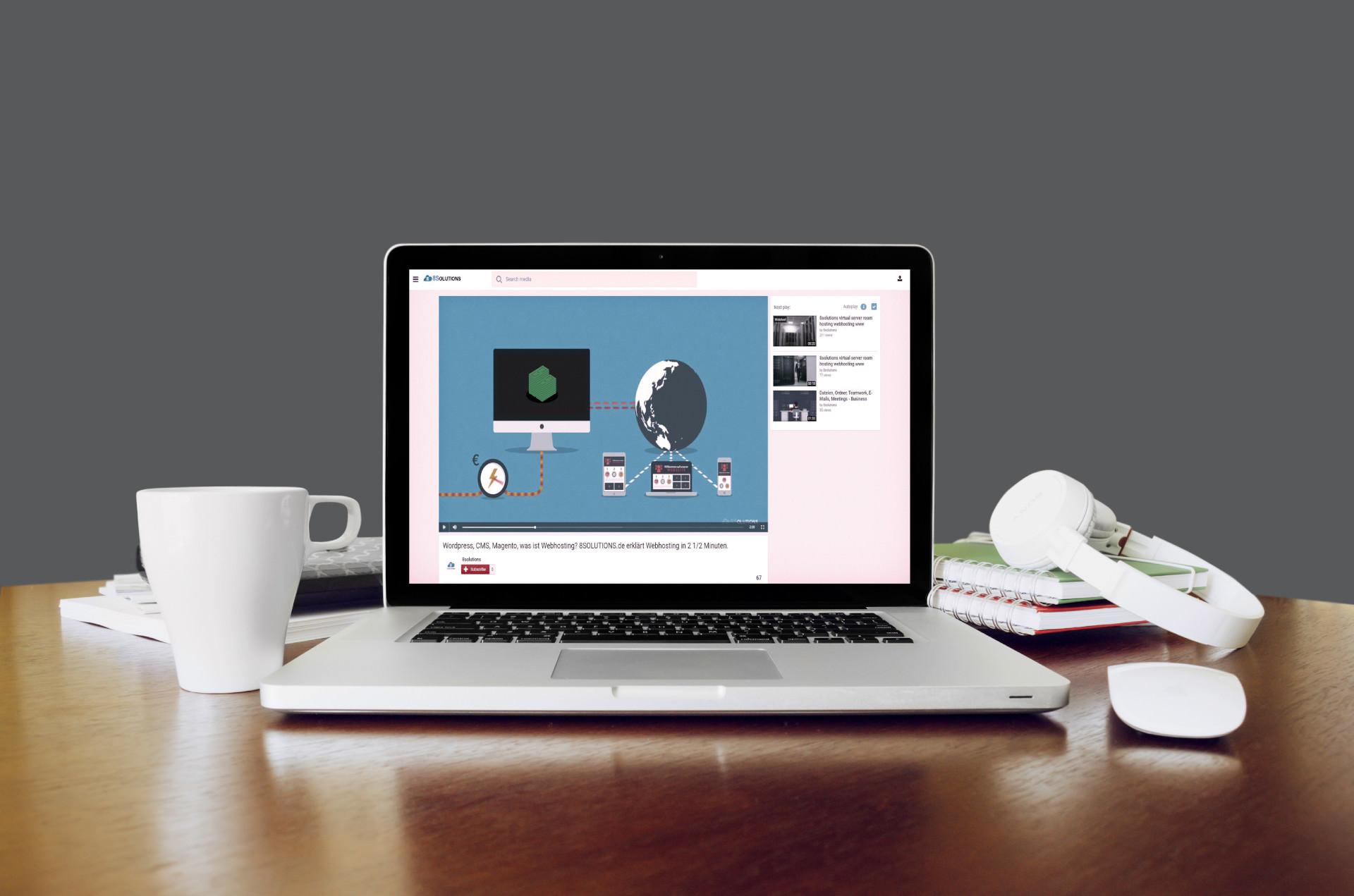 Erklärung – Wir erklären euch Webhosting in 2 1/2 Minuten