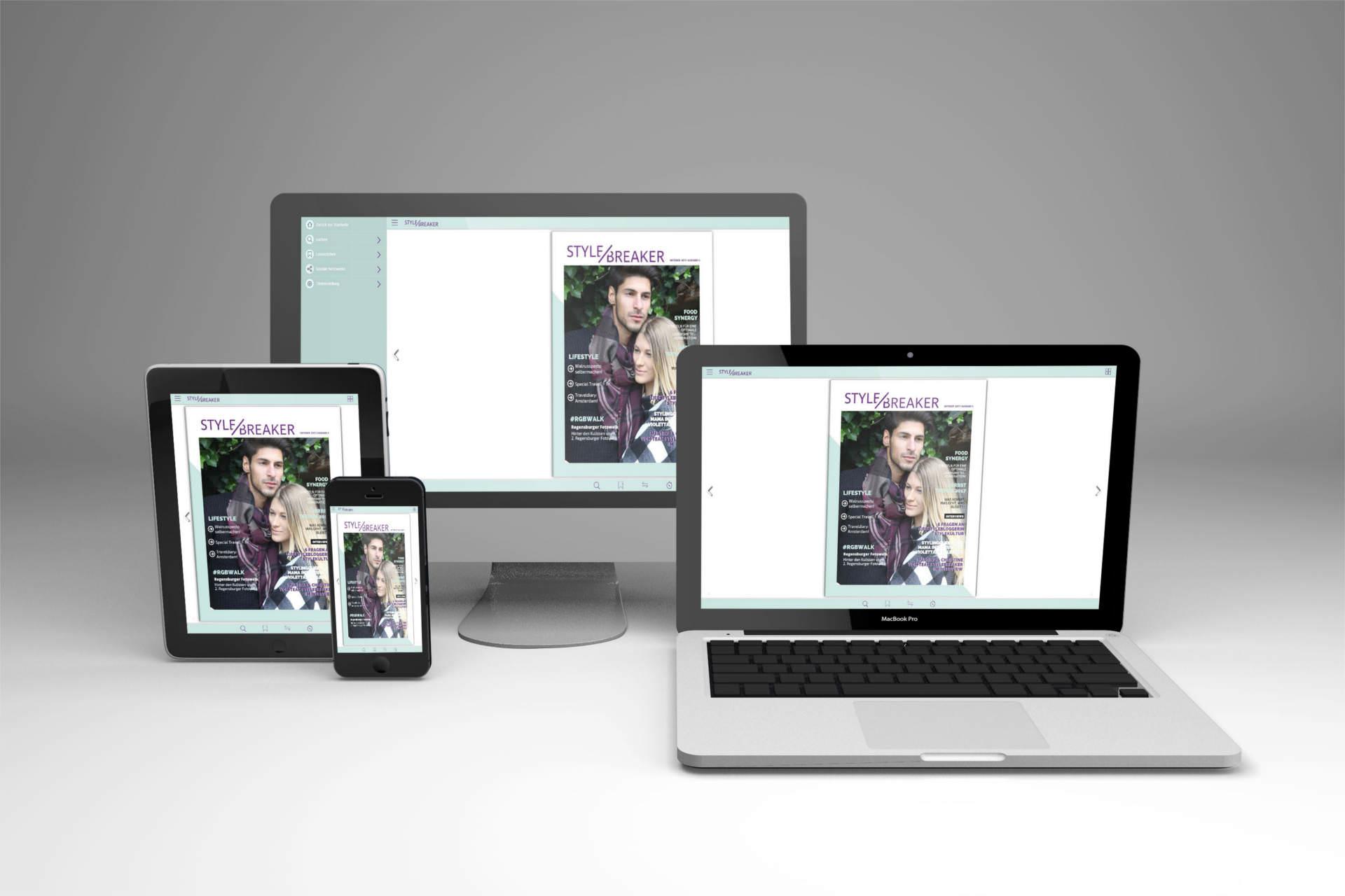 Projekt styleBREAKER Online Magazin
