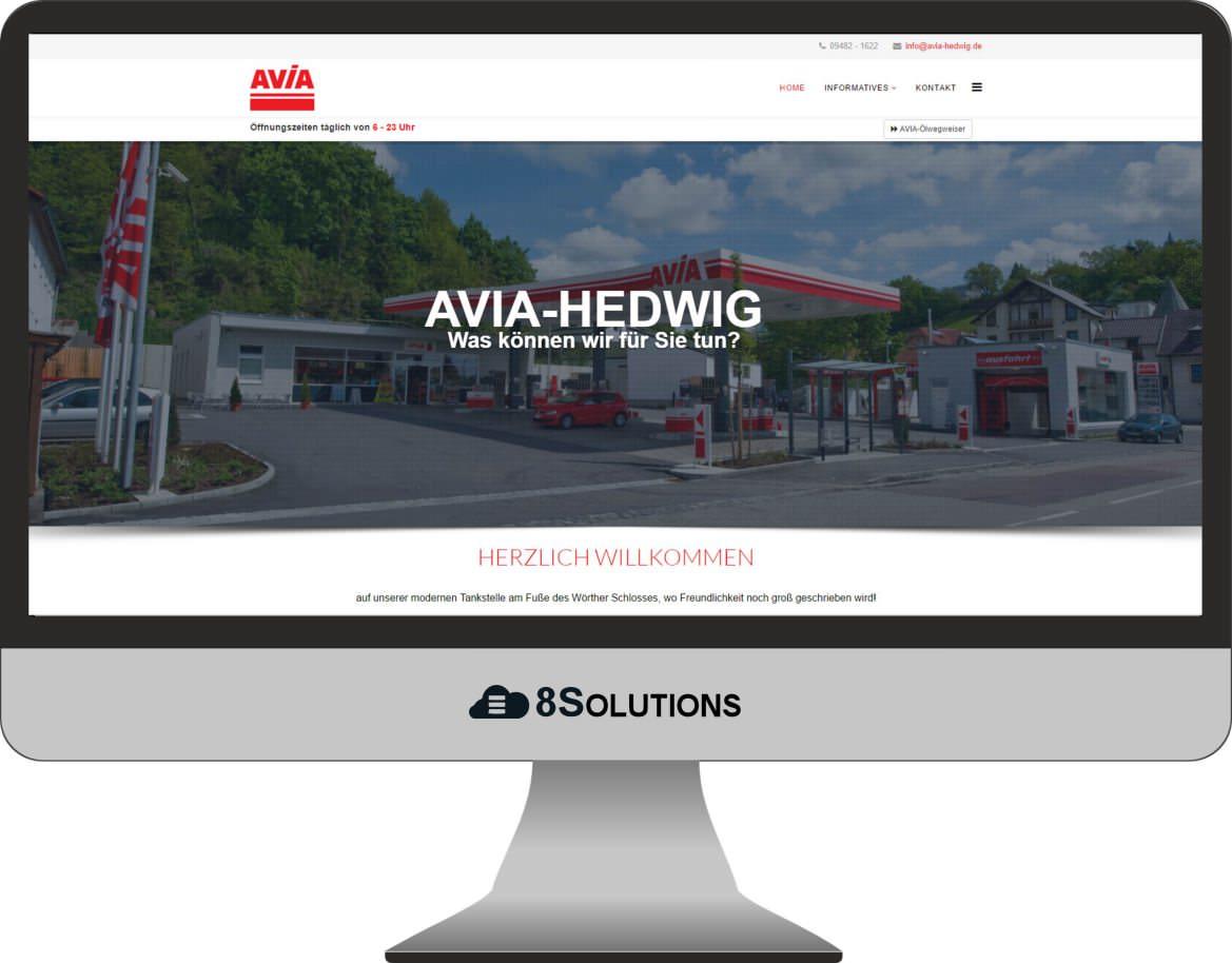 Kundenprojekt – Avia Hedwig