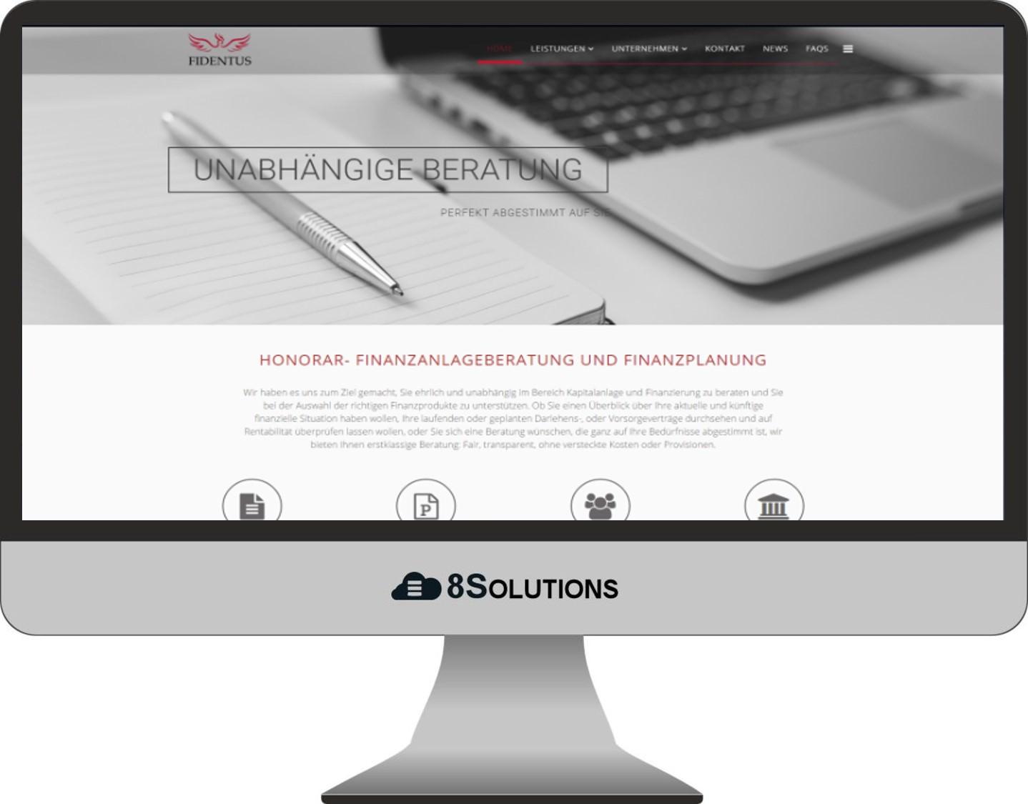 Kundenprojekt – Fidentuns GmbH